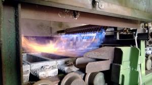 AIr‐fuel burner for ingot caster preheating