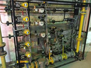 Preassembled valve skid / site installation